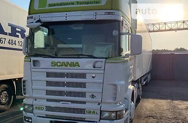 Тягач Scania 124 2003 в Одессе