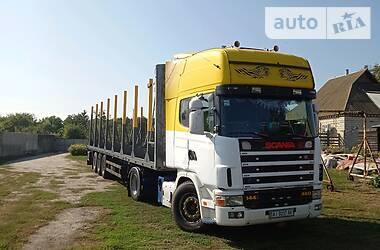 Лесовоз / Сортиментовоз Scania 144 2000 в Переяславе-Хмельницком