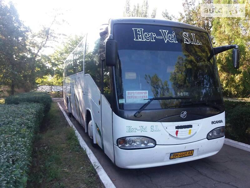 Туристичний / Міжміський автобус Scania Irizar 1998 в Сумах