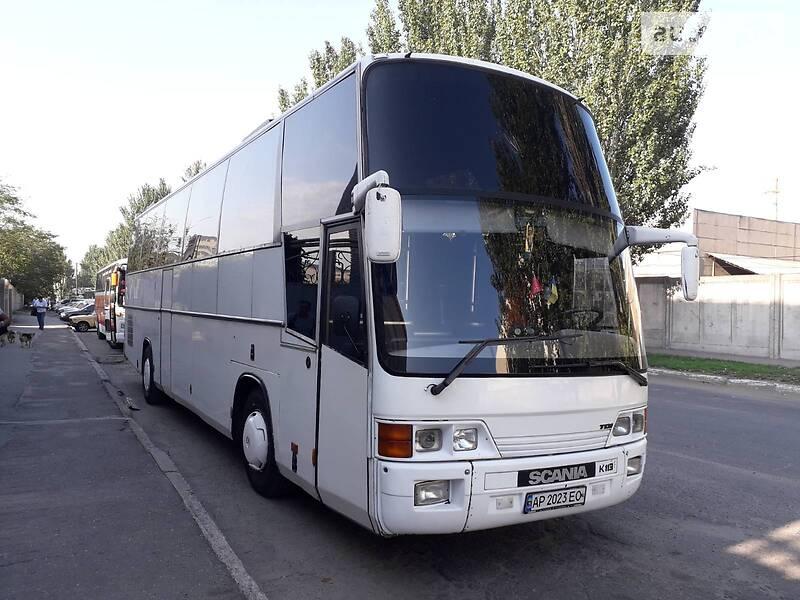 Туристичний / Міжміський автобус Scania K113 1992 в Запоріжжі