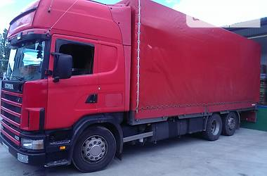 Scania R 124 2004 в Ровно