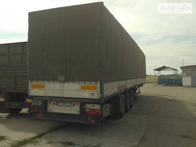 Бортовой полуприцеп Schmitz Cargobull BPW 1995 в Каховке