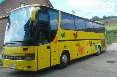 Setra 315 HDH 2001 в Львове