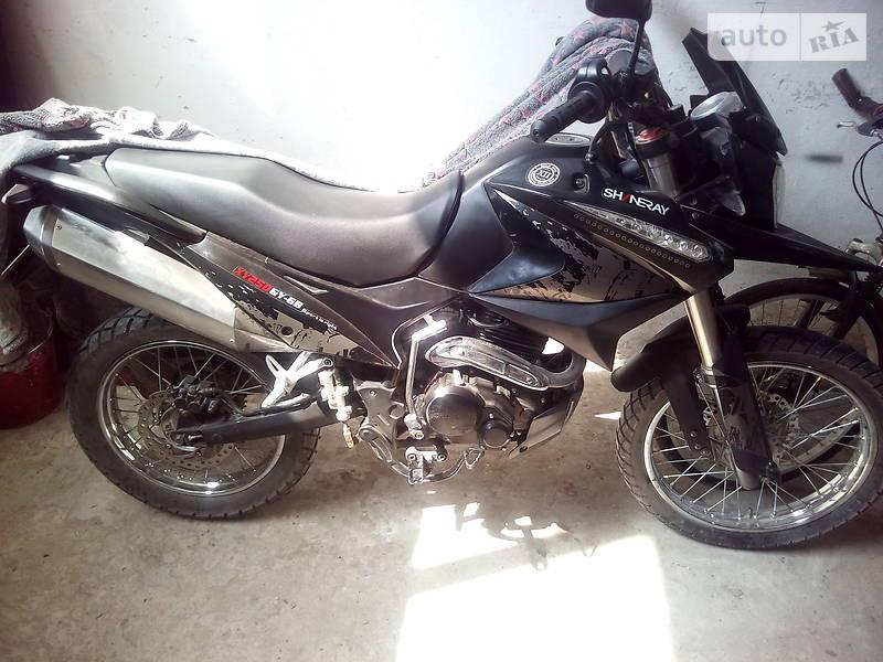 Мотоцикл Позашляховий (Enduro) Shineray XY250GY-6B 2016 в Бережанах