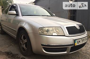 Skoda Superb 2002