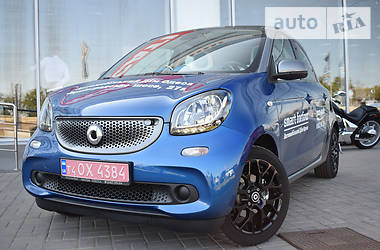Smart Forfour proxy line 2016