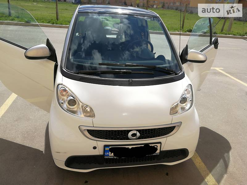 Smart fortwo 2012 года