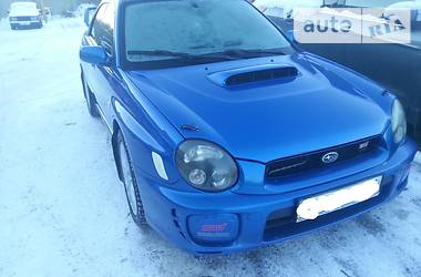 Subaru WRX STI Sedan  2002