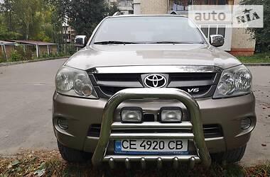 Toyota Fortuner 2006 в Черновцах