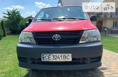 Toyota Hiace пасс. 2007 в Черновцах