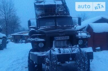 Урал 4320 1991 в Тячеве