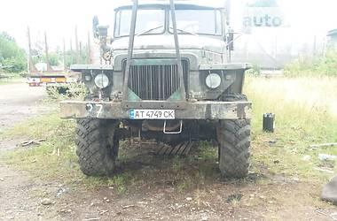Урал 4320 1989 в Долине