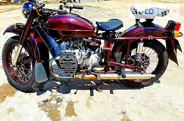 Мотоцикл з коляскою Урал 67-38 1982 в Кропивницькому