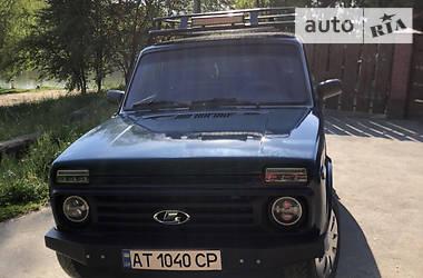 Позашляховик / Кросовер ВАЗ 21213 2003 в Тлумачі