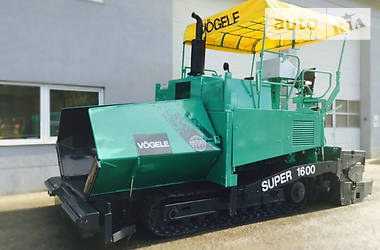 Vogele Super 1600 2001