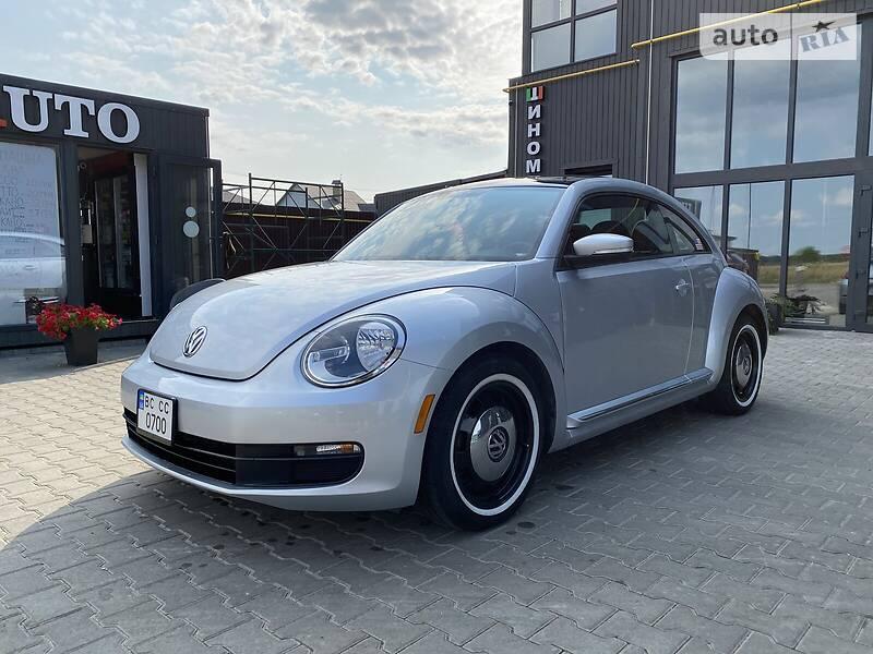 Купе Volkswagen Beetle 2014 в Львове