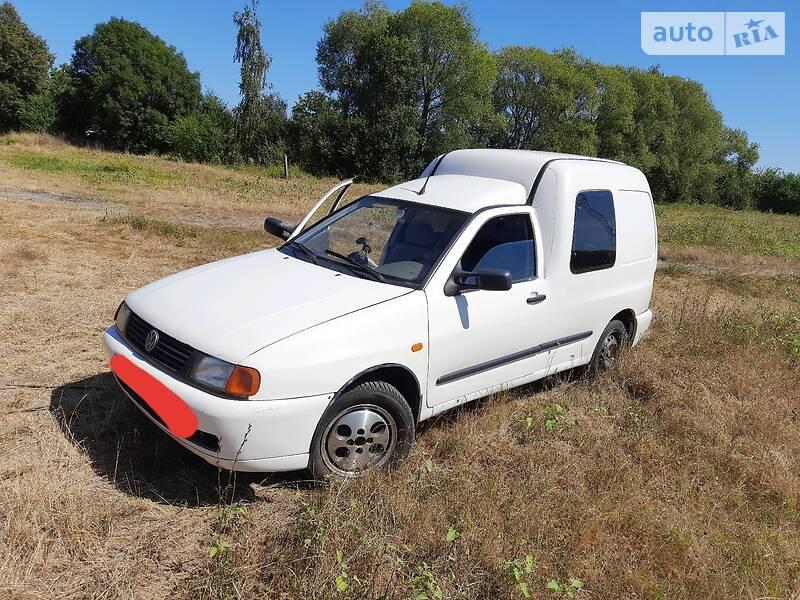 Пікап Volkswagen Caddy груз-пас 1996 в Рівному