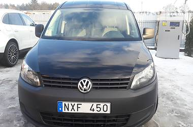 Volkswagen Caddy груз. Webasto/LONG 2013