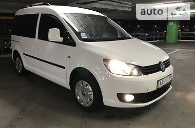 Volkswagen Caddy пасс. 1.6TDI. DSG7. 2011