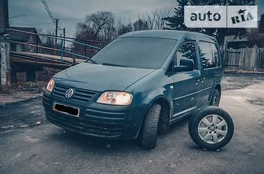 Volkswagen Caddy пасс. LIFE 2.0 SDI  2005