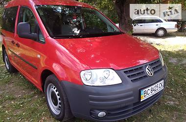 Volkswagen Caddy пасс. 2008 в Владимир-Волынском