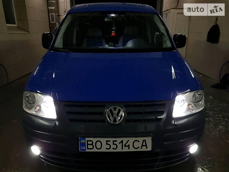 Мінівен Volkswagen Caddy пасс. 2006 в Чорткові