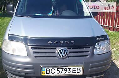 Мінівен Volkswagen Caddy пасс. 2010 в Львові