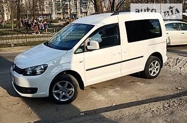 Легковий фургон (до 1,5т) Volkswagen Caddy пасс. 2010 в Києві