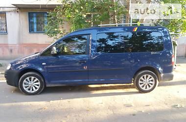Легковой фургон (до 1,5 т) Volkswagen Caddy пасс. 2009 в Мариуполе