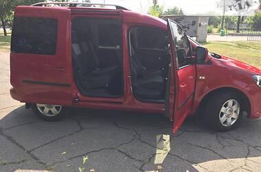 Легковой фургон (до 1,5 т) Volkswagen Caddy пасс. 2014 в Днепре
