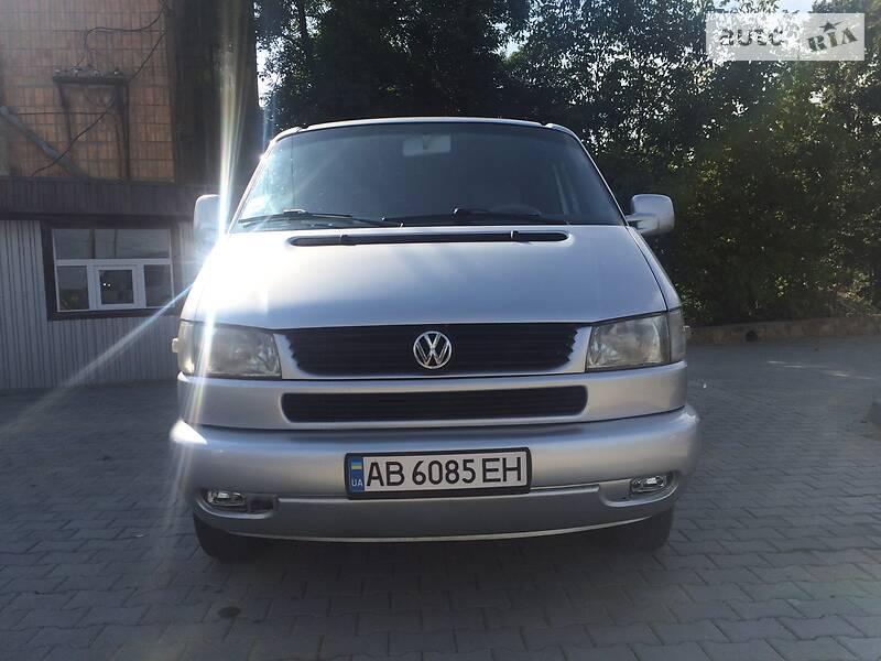 Мінівен Volkswagen Caravelle 2001 в Могилів-Подільському
