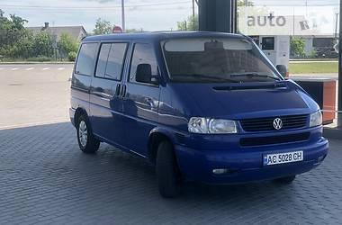Легковой фургон (до 1,5 т) Volkswagen Caravelle 1999 в Ковеле