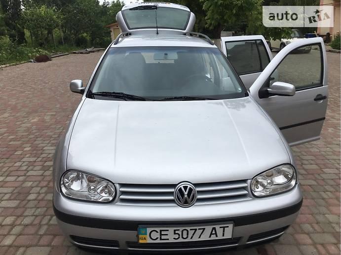 Volkswagen Golf IV 2002 в Черновцах