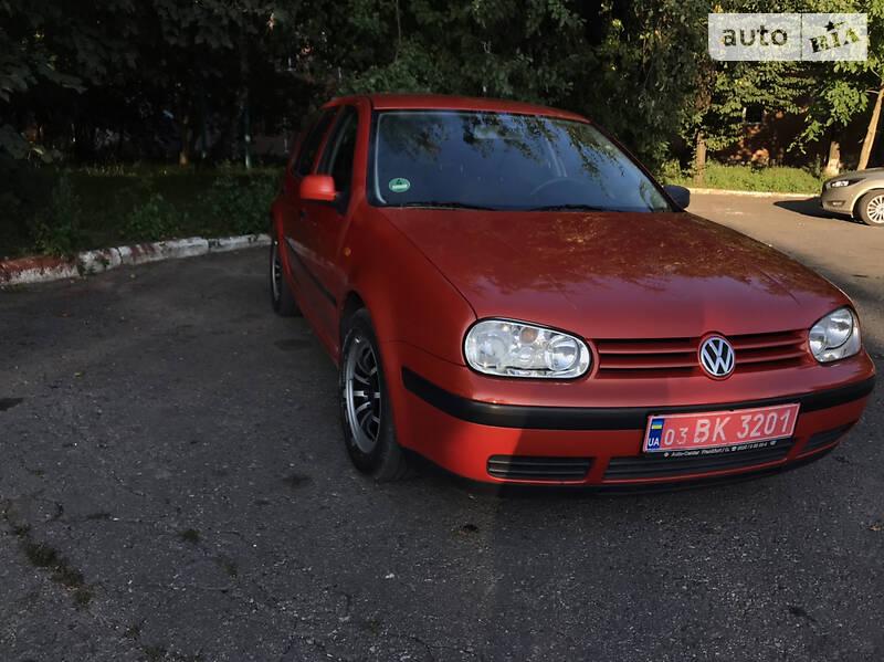 Хэтчбек Volkswagen Golf IV 1998 в Хмельницком