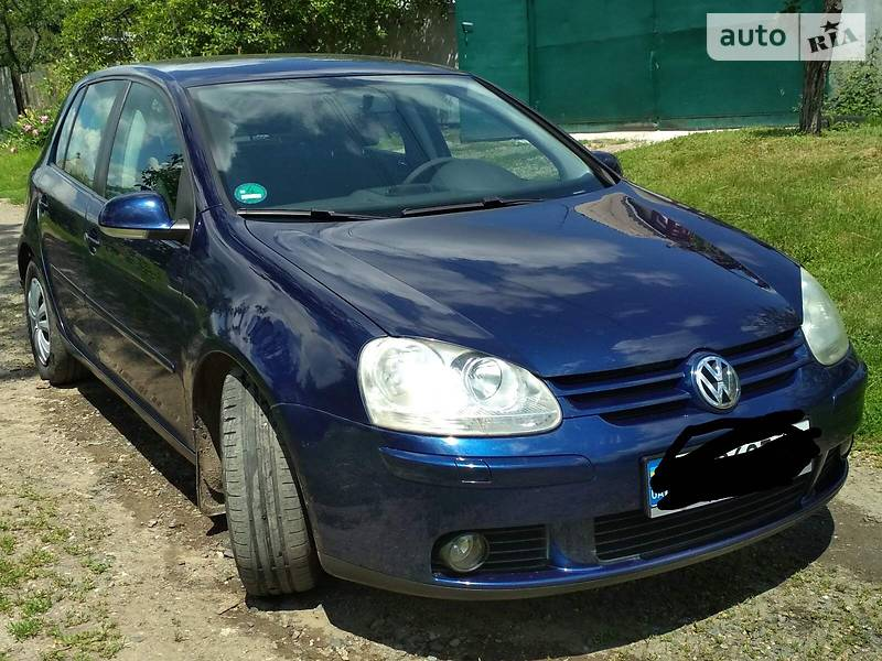 Хэтчбек Volkswagen Golf V 2006 в Харькове