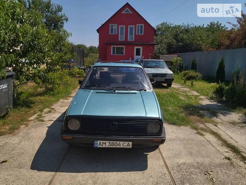 Седан Volkswagen Jetta 1986 в Боярке