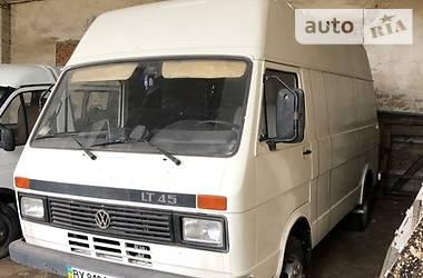 Volkswagen LT груз.-пасс. 1985 в Львове