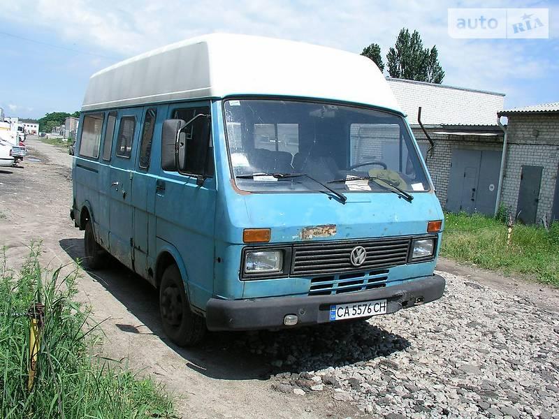 Мікроавтобус вантажний (до 3,5т) Volkswagen LT груз. 1992 в Черкасах