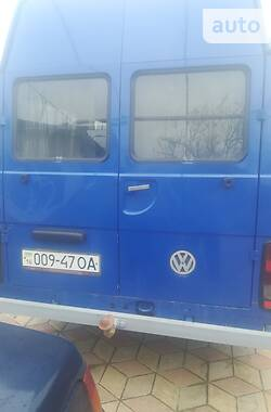 Микроавтобус (от 10 до 22 пас.) Volkswagen LT пасс. 1996 в Килии