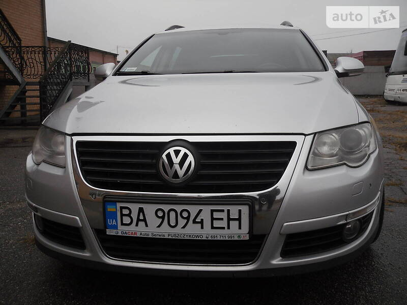 Универсал Volkswagen Passat B6 2008 в Кропивницком