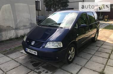 Мінівен Volkswagen Sharan 2001 в Львові