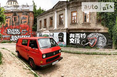 Легковой фургон (до 1,5 т) Volkswagen T3 (Transporter) груз. 1988 в Харькове