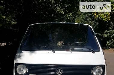 Легковой фургон (до 1,5 т) Volkswagen T3 (Transporter) груз. 1987 в Мелитополе