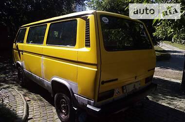 Volkswagen T3 (Transporter) пасс. 1984 в Черновцах