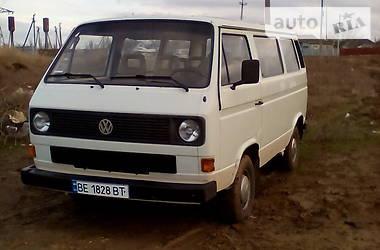 Volkswagen T3 (Transporter) пас. 1989 в Новій Одесі