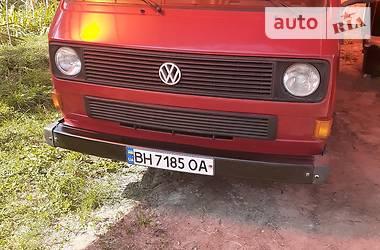 Легковий фургон (до 1,5т) Volkswagen T3 (Transporter) пас. 1986 в Одесі