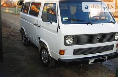 Volkswagen T3 (Transporter) 1987 в Чемеровцах