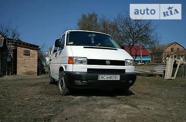 Volkswagen T4 (Transporter) груз-пасс. 2001 в Луцке
