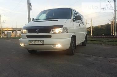 Volkswagen T4 (Transporter) груз-пасс. 2002 в Киеве