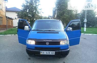 Volkswagen T4 (Transporter) груз-пасс. 2000 в Чернівцях